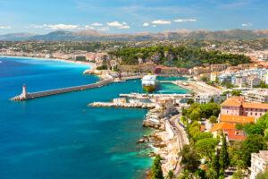 View,of,nice,,mediterranean,resort,,cote,d'azur,,france